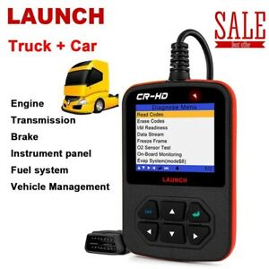 Launch X431 J1870 Heavy Duty Diesel Truck Code Reader Diagnostic Scanner Tool Us