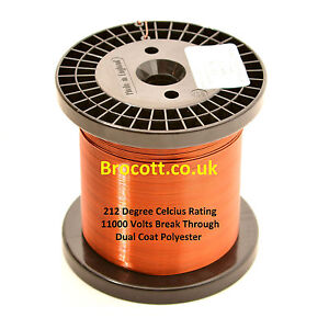 Enamelled Copper Wire 34awg To 12awg Magnet Wire Various Weights Free Post Uk
