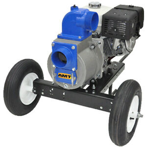 Amt Pump 3993 z6 530 Gpm 4 Electric Start Diesel Trash Pump W Hatz 1b50