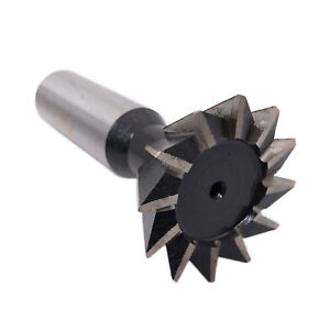 Us Stock Hss 35mm X 60 Degree Dovetail Cutter Milling End Mill High Speed Steel