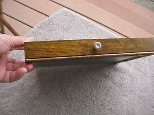 Vintage Gerstner Usa Oak Machinist 10 5 8 8 1 8 1 7 16 Drawer Tool Tools