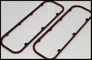 Bbc Chevy 454 496 572 Extra Thick Valve Cover Gaskets 7485 C Extra Thick