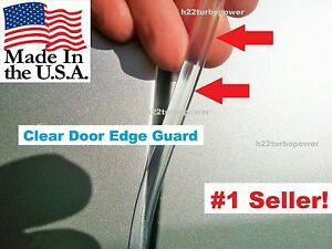 Car Auto Trim Protector Made In The Usa 20 Clear Door Edge Guards