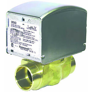 Honeywell 24v Zone Valve 1 Sweat 2 pos N c Auxsw 18 V8043e5020