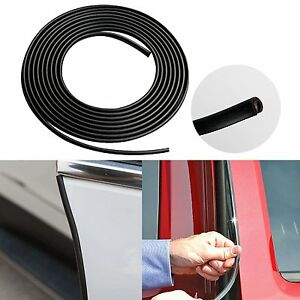 32ft 10m Car Door Moulding Rubber Strip Trim Guard Edge Protector Cover