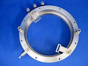 Thermco 5204 225 235 Lp Cvd Front Flange 128356 003 A6 Used