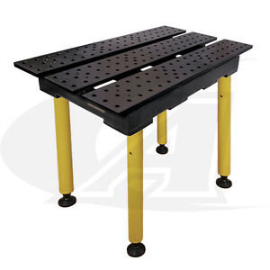 Buildpro 2 0 56m X 3 Welding Table 36 Of Height With Nitride Finish
