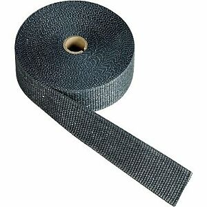 Design Dei Exhaust And Header Wrap Fiberglass Composite Black 2 Wide X 50 Ft