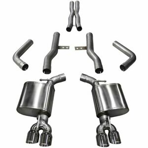 Corsa Exhaust System New Coupe Dodge Challenger 2015 2017 14989