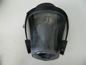 Scott Av 3000 Mask Large W Nose Cup Scba Air Pak Firefighter