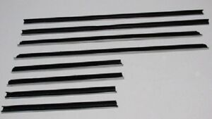 67 68 69 Dart Valiant 4 Door Sedan Top Cat Window Felt 8 Pc Cat Whiskers new