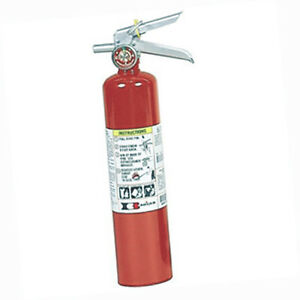 Badgerx99 Standard 2 5 Lb Abc Fire Extinguisher W Vehicle Bracket 22430b