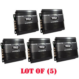 Lot Of 5 Pyle Pswnv720 24 12v Dc Power Step Down Converter 720w Pmw Technology