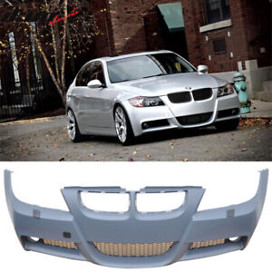 Fits 06 08 E90 3 Series Pre Lci M T Msport Front Bumper Cover Conversion Pp