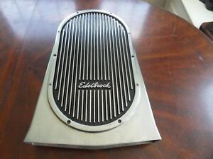 Vintage Edelbrock Street Scoop Hood Scoop For Holley Dominator Bird Catcher