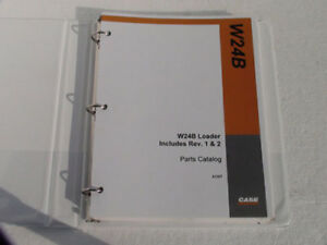 Case W24b Articulated Loader Parts Catalog Manual Book