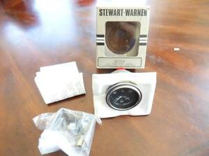 Vintage Nos Stewart Warner 82324 Electric Oil Pressure Gauge 200 Lbs 2 1 4