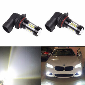 2x 80w 9006 Hb4 High Power Led Cree 6500k Super White Fog Lights Bulbs
