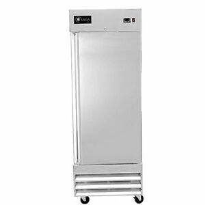 Saba Air Commercial Cooler Single 1 Door Reach In Refrigerator Stainless St 23r
