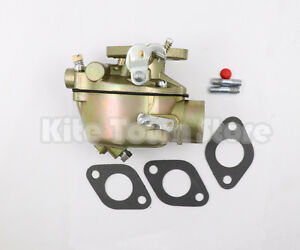 Carburetor For Ford Tractor 2n 8n 9n 8n9510c Marvel Carb Gasket 2 Mounting Studs