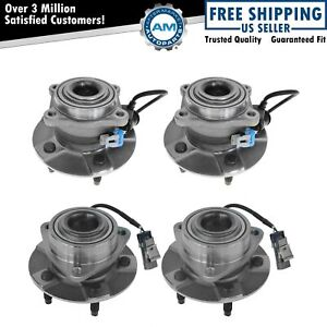 Front Rear Wheel Hub Bearing Assembly Kit For Equinox Torrent Vue