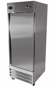 Saba Heavy Duty Commercial Reach in Freezer one Door Stainless Steel