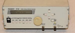 Pragmatic 2714a 20 Ms s Arbitrary Waveform Generator Opttion Gpib