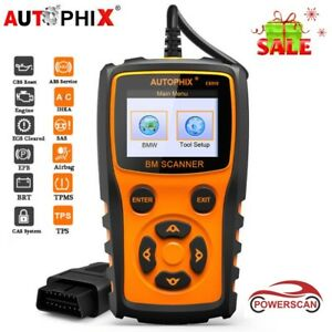Es910 Abs Srs Airbag Reset Auto Obd2 Code Reader Car Scanner All System For Bmw