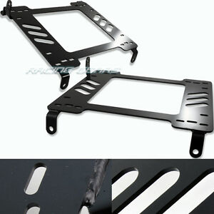 Racing Seat Mount Base Planted Steel Bracket Adapter Fit 05 14 Ford Mustang