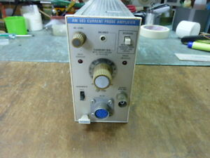 Tektronix Am 503 Current Probe Amplifier In Good Conditions
