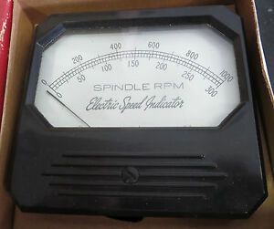 Triplett 65252 a Electric Speed Indicator Meter
