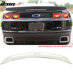 Fits 10 13 Chevy Camaro Zl1 Trunk Spoiler Wing Painted wa8624 Olympic White