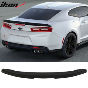 Fits 16 19 Chevy Camaro Factory Style Flush Mount 3 piece Blade Trunk Spoiler