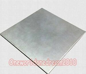2 Pieces Titanium Ti Grade 5 Plates Sheets 1 5mm X 200mm X 400 Mm 8 X 16