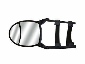 Cipa 11953 Dual View Adjustable Clip On Towing Mirror 7 5x5 75 For Car Truck