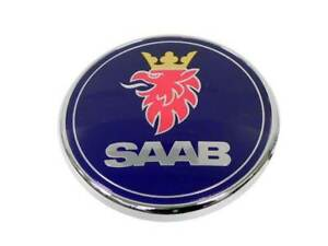 Badge Decal Logo Sign Trunk Emblem Genuine Saab 12769690 For Saab 9 3 2006 2007