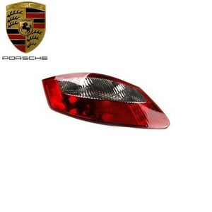 Porsche Boxster Cayman 05 08 Genuine Taillight Lens Clear Red 98763144504