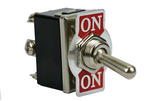 Temco Heavy Duty 20a 125v On on Dpdt 6 Terminal Toggle Switch