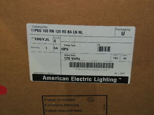 American Electric Lighting 11pkg10srn120r5balnl 100w 120v Hps Parking Lot Light