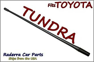 Fits 2000 2019 Toyota Tundra 13 Short Custom Flexible Rubber Antenna Mast