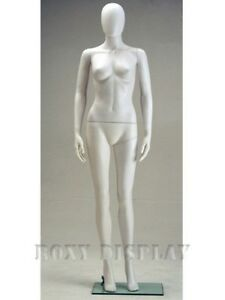 Free Shipping Female Plastic Mannequin Display Head Turns Sf6weg