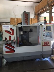Used Haas Vf 0 Cnc Vertical Mill 1995 Auger Rigid Tapping Clean Cheap Haas Cat40