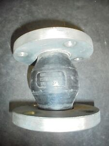 Unaflex Stainless Steel 2 Id Flange Rubber Expansion Joint Epdm Style 800