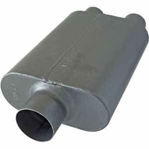 Flowmaster Muffler 40 Series 3 Inlet 2 5 Outlet Stainless Steel Each