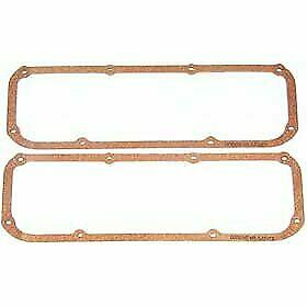 Mr Gasket 274 Valve Cover Gaskets Cork Rubber Pair New