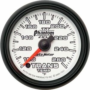 Auto Meter Transmission Temperature Gauge 7557