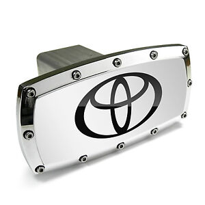 Toyota Logo Billet Aluminum Tow Hitch Cover