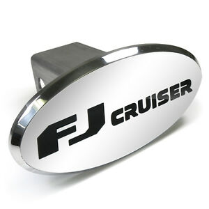Toyota Fj Cruiser Engraved Oval Aluminum Tow Hitch Cover