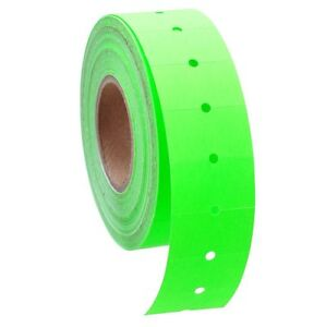 10 Rolls 5000 Tags Green Labels For Motex Mx 5500 L5500 Mx989 Price Gun