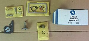 Mopar 3744793 Carb Kit 1973 A Body M trans 6 Cyl Holly 1 Bbl Carb r6447a Nos